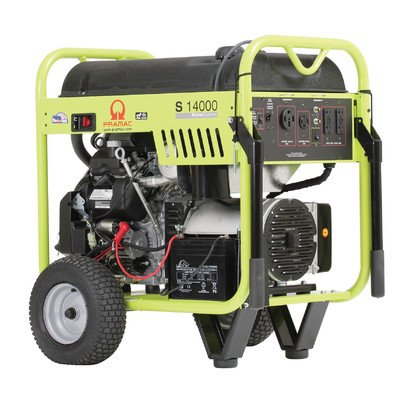 Pramac S14000 Petrol 15.5 KVA Recoil/Electric start Portable Generators