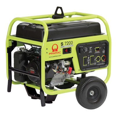 Pramac S7200 Petrol 8 KVA Recoil/Electric  start Portable Generators