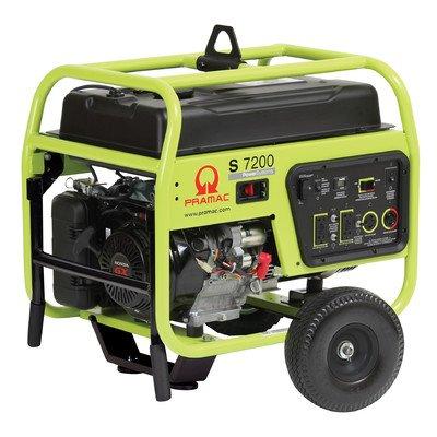 Pramac S7200 Petrol 8 KVA Recoil/Electric  start Portable Generators