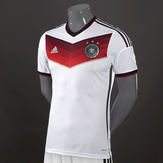 Adidas Germany World Cup Jersey White/Black & Red