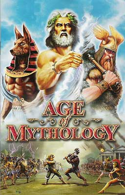 Age of Mythology PC Game DVD