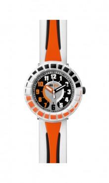 Swatch  ALL  AROUND  ORANGE  &  BLACK   ZFCSP008   Watch