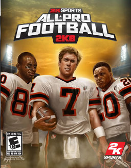 All Pro Football 2K8 PLAYSTATION 3 GAME