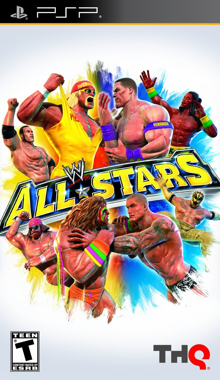 WWE All Stars Sony PSP video game