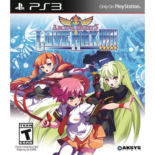 Arcana Heart 3: LOVE MAX!!!!! PLAYSTATION 3 GAME