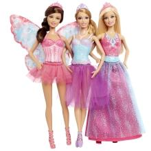 Barbie 3doll Fairytale Giftset