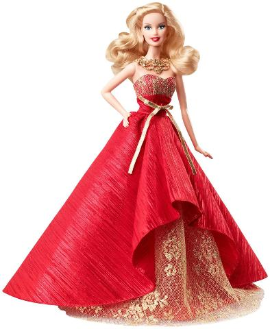 Barbie BDH13 Holiday Doll