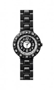 Swatch  BLACK  COLOR  SHAKE  ZFCSP004  Watch