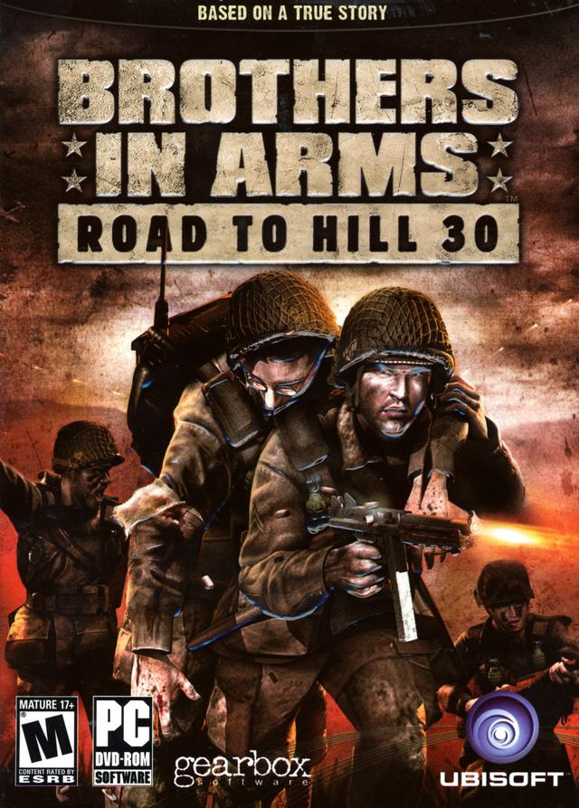 Brothers in Arms: Road to Hill 30 PC Game DVD