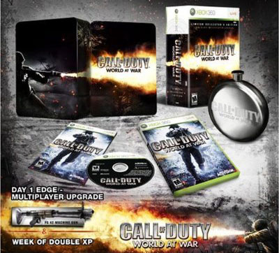 Call of Duty World at War Collector's Edition PC Game DVD