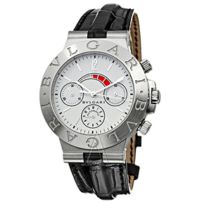 BULGARI DIAGONO CHW40GL-AMPLI WATCH
