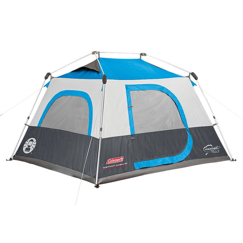 COLEMAN 4-PERSON INSTANT CAMPING TENT