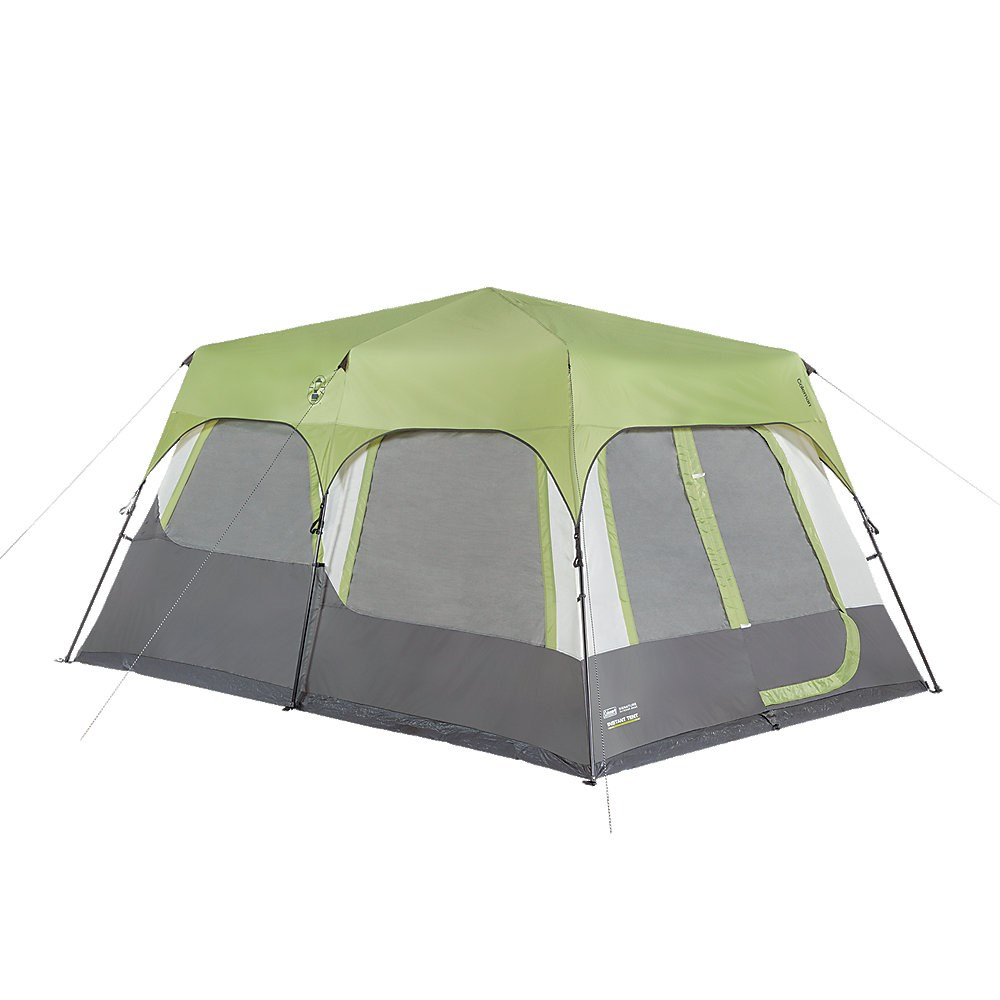 COLEMAN INSTANT CABIN 10 WITH FLY CAMPING TENT