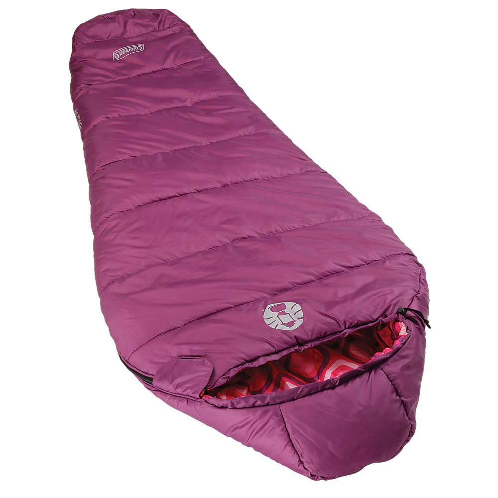 COLEMAN MUMMY YOUTH GIRLS SLEEPING BAG