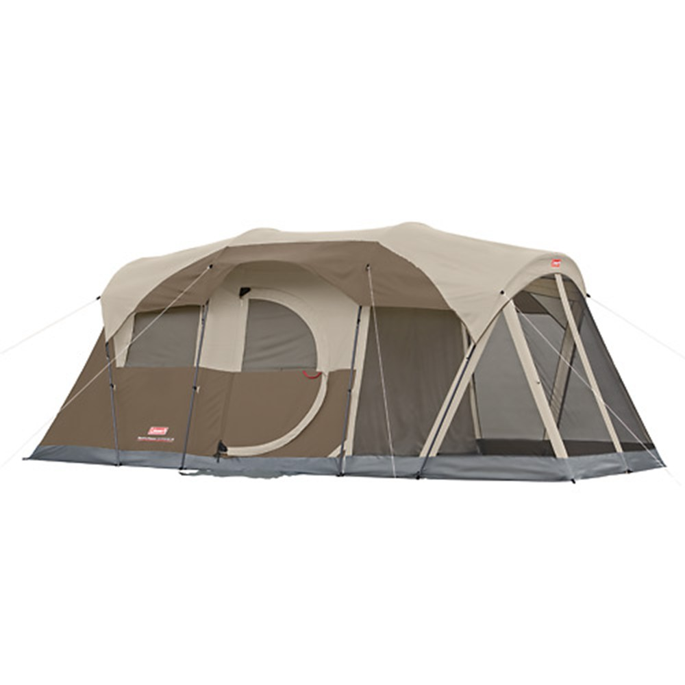 COLEMAN WEATHERMASTER SCREENED 6 CAMPING TENT