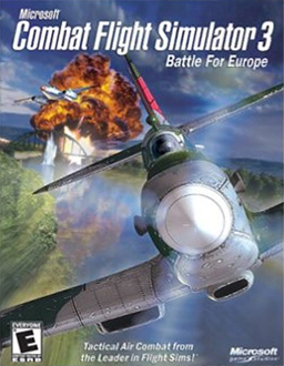 Combat Flight Simulator 3: Battle for Europe PC Game DVD