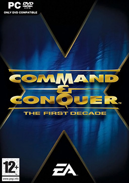 Command and Conquer the First Decade PC Game DVD