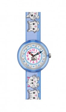 Swatch  CUTY  CATS  IN  BLUE ZFBNP013   Watch