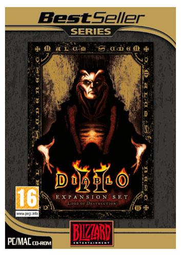 Diablo II: Lord of Destruction Expansion Set Mac Game DVD