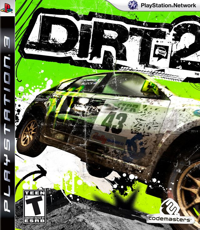 Dirt 2  PLAYSTATION 3 GAME