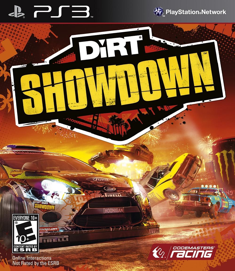 DiRT Showdown PLAYSTATION 3 GAME