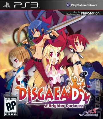 Disgaea D2: A Brighter Darkness PLAYSTATION 3 GAME