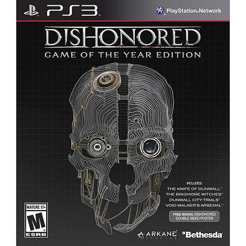 Dishonored Game of the Year Edition PLAYSTATION 3 GAME