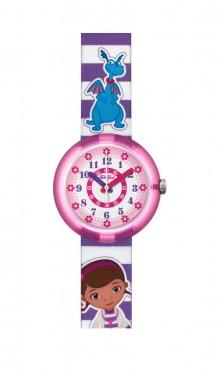 Swatch  DISNEY'S DOC MCSTUFFINS  ZFLNP007  Watch