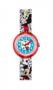 Swatch  DISNEY'S  MICKEY  MOUSE  ZFLNP009  Watch
