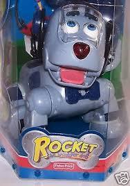 Fisher Price Rocket the Wonder Dog Robotic Pet RC Toys