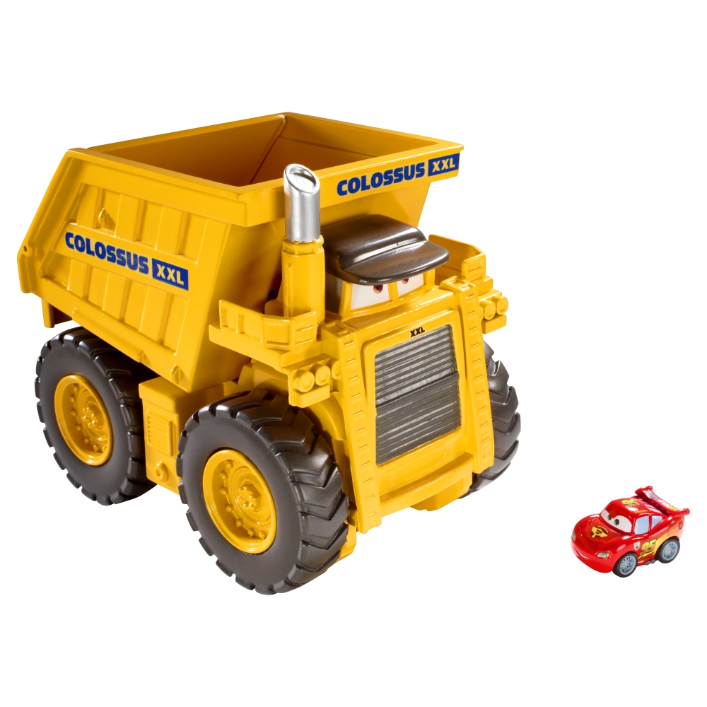 Cars Micro Drifters Colossus XXL Dump Truck RC Toys