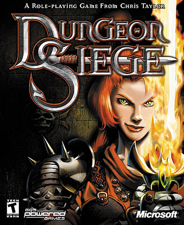 Dungeon Siege  PC Game DVD
