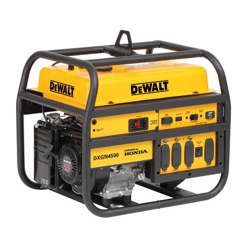 DeWalt DXGN4500 - 4.5 KVA Petrol Portable Generator