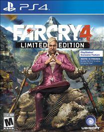 Far Cry 4: Limited Edition PLAYSTATION 4 GAME