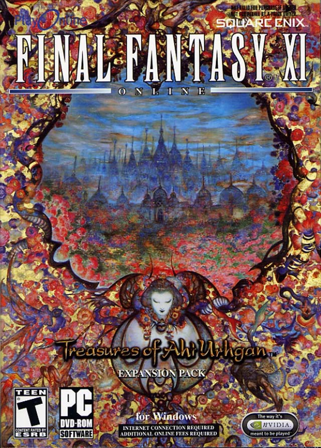 Final Fantasy XI: Treasures of Aht Urhgan PC Game DVD