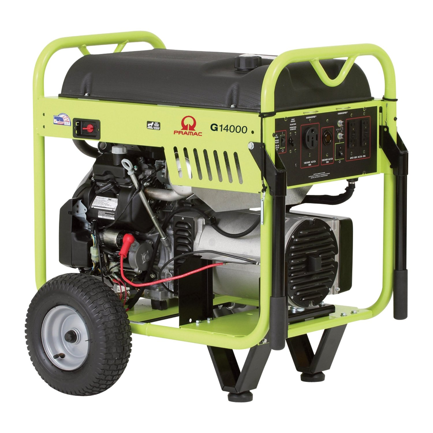 Pramac G14000  Petrol 13  KVA Electric  Start Portable Generators
