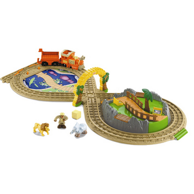 Fisher-Price GeoTrax On the Go Zoo RC Toys