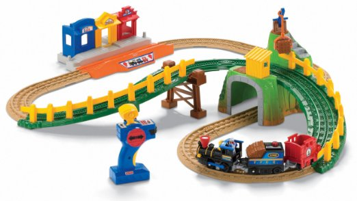 Fisher-Price GeoTrax Remote Control Timbertown Railway RC Toys