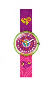 Swatch  GREEN  SPLASHY  &  FLASHY  ZFPNP002   Watch