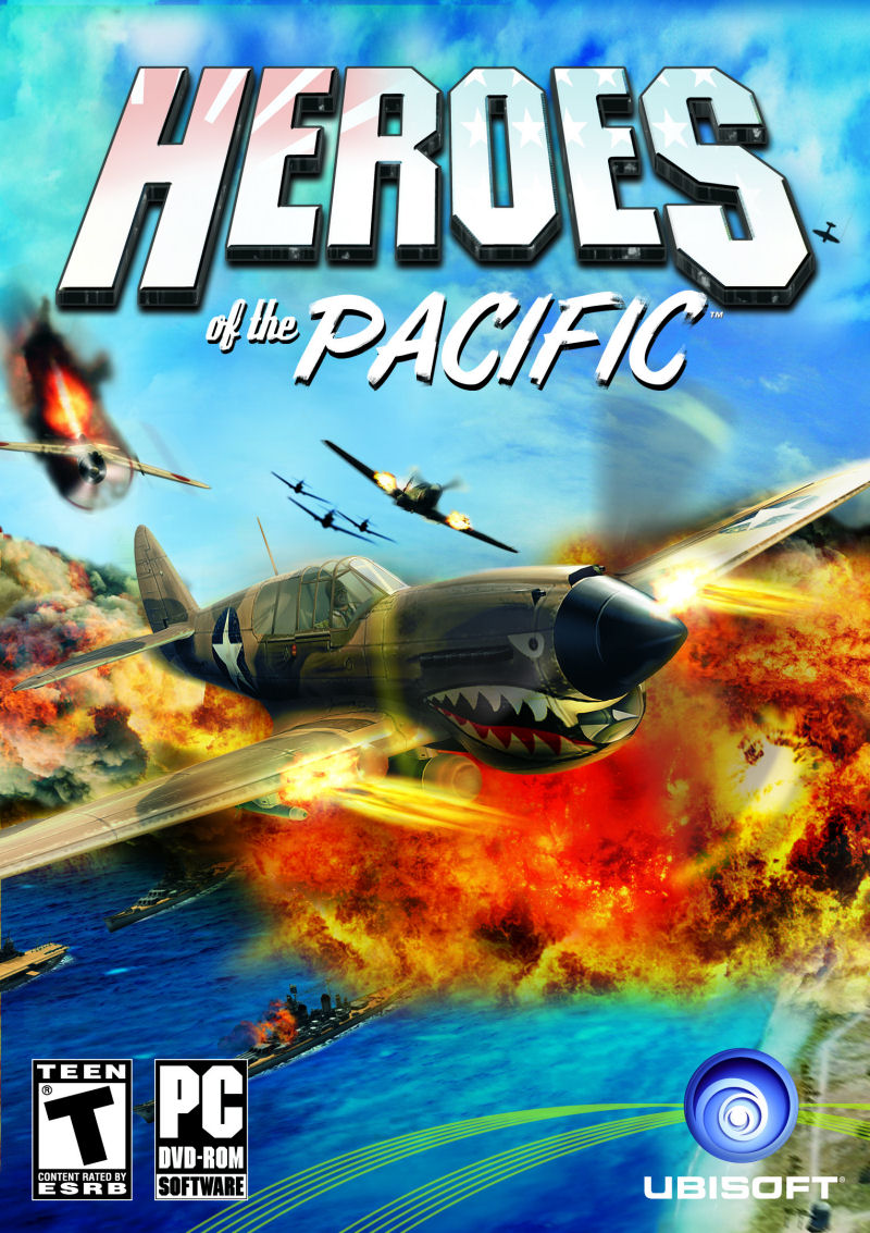 Heroes of the Pacific PC Game DVD
