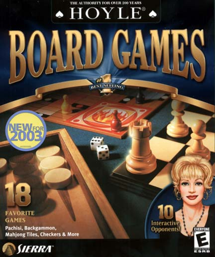 Hoyle Board Games 2003 Mac Game DVD