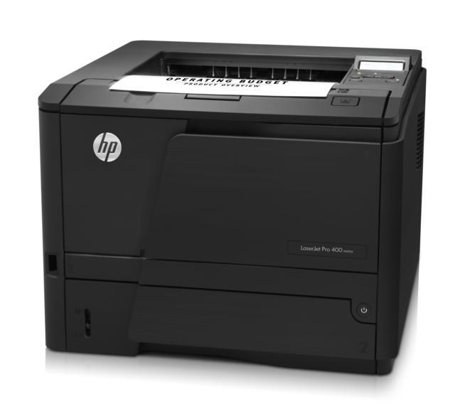 HP  LaserJet  Pro 400  Laser  Printer  M401D