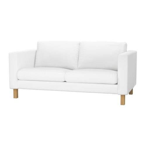 IKEA  KARLSTAD  Two-Seat  Fabric  Sofa