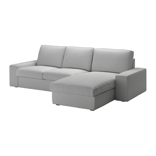IKEA  KIVIK  Two-Seat  Fabric  Sofa and  Chaise  Longue