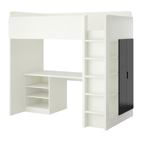 IKEA STUVA Loft Bed Combo With 2 Shelves/2 Doors  For Children