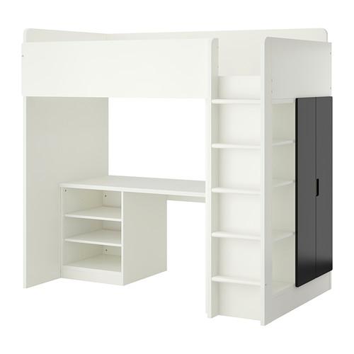 IKEA STUVA Loft Bed Combo With 2 Shelves/2 Doors  For Children
