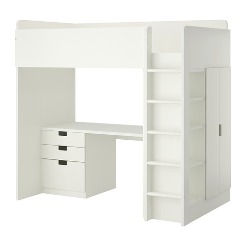 IKEASTUVALoftBedComboWith3Drawers/2DoorsForChildren