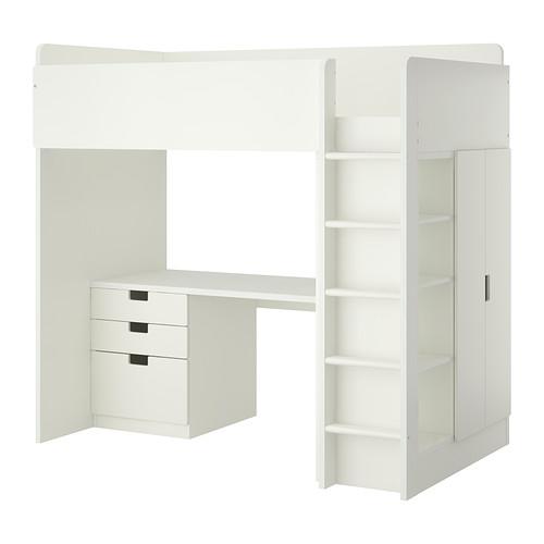 IKEASTUVALoftBedComboWith3Drawers/2DoorsForChildren