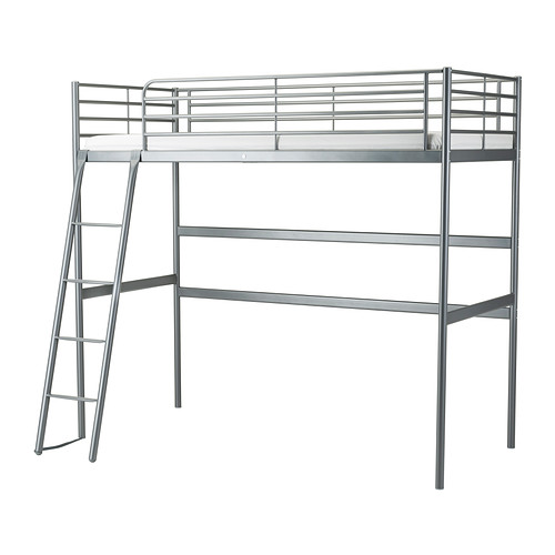 IKEA SVARTA Loft Bed Frame For Children