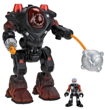Fisher-Price Imaginext Robot Police Villain Robot RC Toys